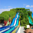 Stock Photo: Aqupark water attractions