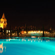 Stock Photo: Swimming pool in night illumination