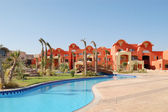 Hotel building, Sharm el Sheikh, Egypt — Stock Photo