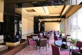 Hotel lobby lounge area, Antalya, Turkey — Stock Photo