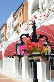 Italian style hotel, Antalya, Turkey — Stock Photo