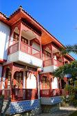 Otelin bungalow, antalya, Türkiye — Stok fotoğraf