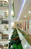 Hotel interior, Antalya, Turkey — Stock Photo