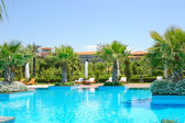 Swimming pool at VIP hotel, Antalya — Stock Photo