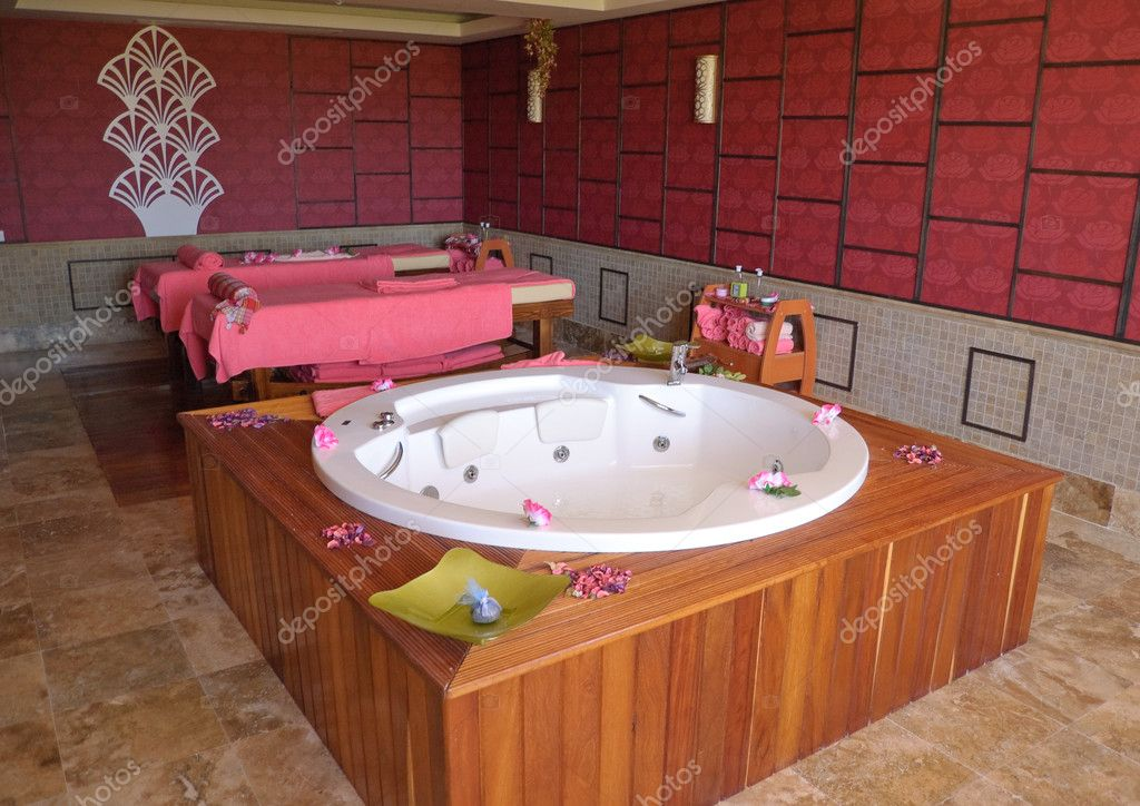 Hotel's SPA treatment area, Antalya, Turkey — Stock Photo #1284627