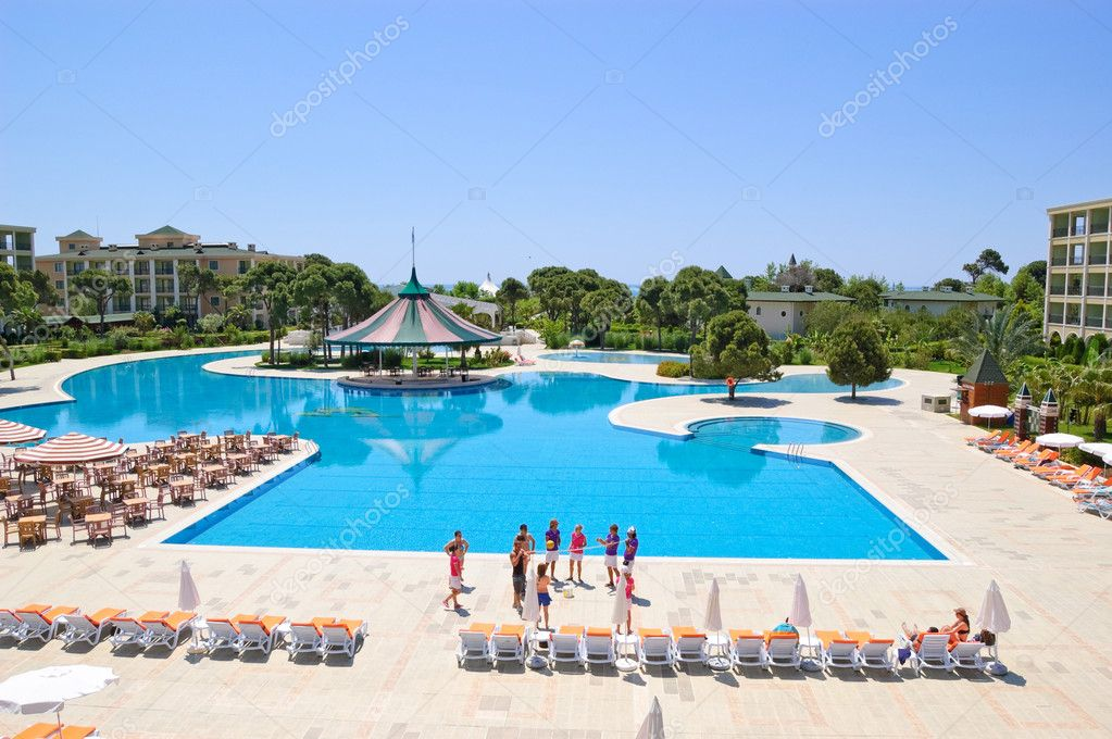 Animation entertainment team, Antalya, Turkey — Stock Photo #1284912