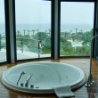 Jacuzzi with a view on Mediterranean Sea — Stock Photo