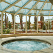 Stock Photo: Jacuzzi at Mediterraneresort