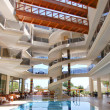 Hotel interior, Antalya, Turkey - Stockfoto