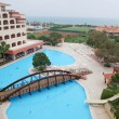 Hotel at Mediterranean Sea, Antalya — Stockfoto