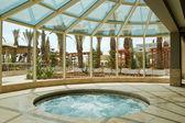 Jacuzzi at Mediterranean resort — Stock Photo