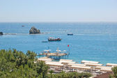 Mediterranean sea coast, Antalya — Stock Photo