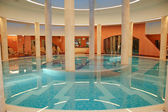 Spa jacuzzi, luxurious hotel in Antalya — Stock Photo