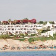 Beach of modern hotel at Red Sea - Stock Photo