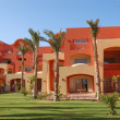 Hotel building, Sharm el Sheikh, Egypt - Stock Photo