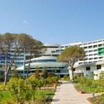 Modern hotel building, Antalya, Turkey — Stock Photo #1333407