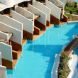 Villas at modern turkish resort — Stock Photo