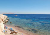 Red Sea coast, Sharm el Sheikh, Egypt — Stock Photo
