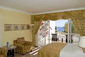 Luxurious hotel apartment — Stock Photo