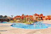 Hotel building, Sharm el Sheikh, Egypt — Stock Photo