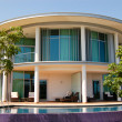 Modern villa at turkish resort — Stock Photo #1367154