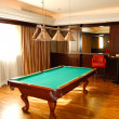 Royalty-Free Stock Photo: Room for biliard/snooker game
