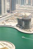 Construction works in Dubai, UAE — Stock Photo