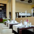 Stock Photo: Restaurant in luxury hotel, Dubai, UAE