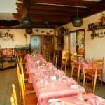 Restaurant in popular hotel, Dubai, UAE — Stock Photo #1402836