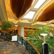 Stock Photo: Reception lobby arein luxury hotel