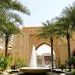 Stock Photo: Arabic style hotel in Dubai downtown