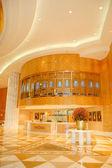 Reception area of luxury hotel — Stock Photo