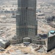 Stock Photo: Construction of Burj Dubai(Burj Khalifa)