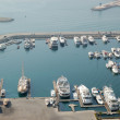 Dubai Marina yacht parking — Stock Photo