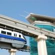 The Palm Jumeirah monorail station — Stock Photo #1796431