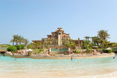 Waterpark of Atlantis the Palm hotel — Stock Photo