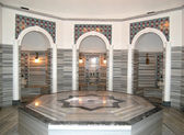 Turkish bath (Hamam) at hotel's spa — Stock Photo