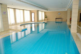 SPA swimming pool in popular hotel — Stock Photo