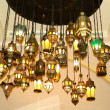 Assorted Oriental lamps - Stock Photo