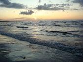 Soyut deniz ve gün batımı — Stok fotoğraf
