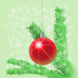 New-Year tree decoration — Stock Photo
