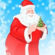Happy Santa — Stock Photo