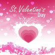 Pink St. Valentine — Stock Photo
