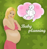 Pregnancy — Stock Photo