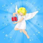 Christmas angel — Stock Photo