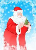 Happy Santa — Stock Photo