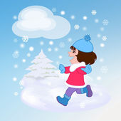 зимний день — Стоковое фото