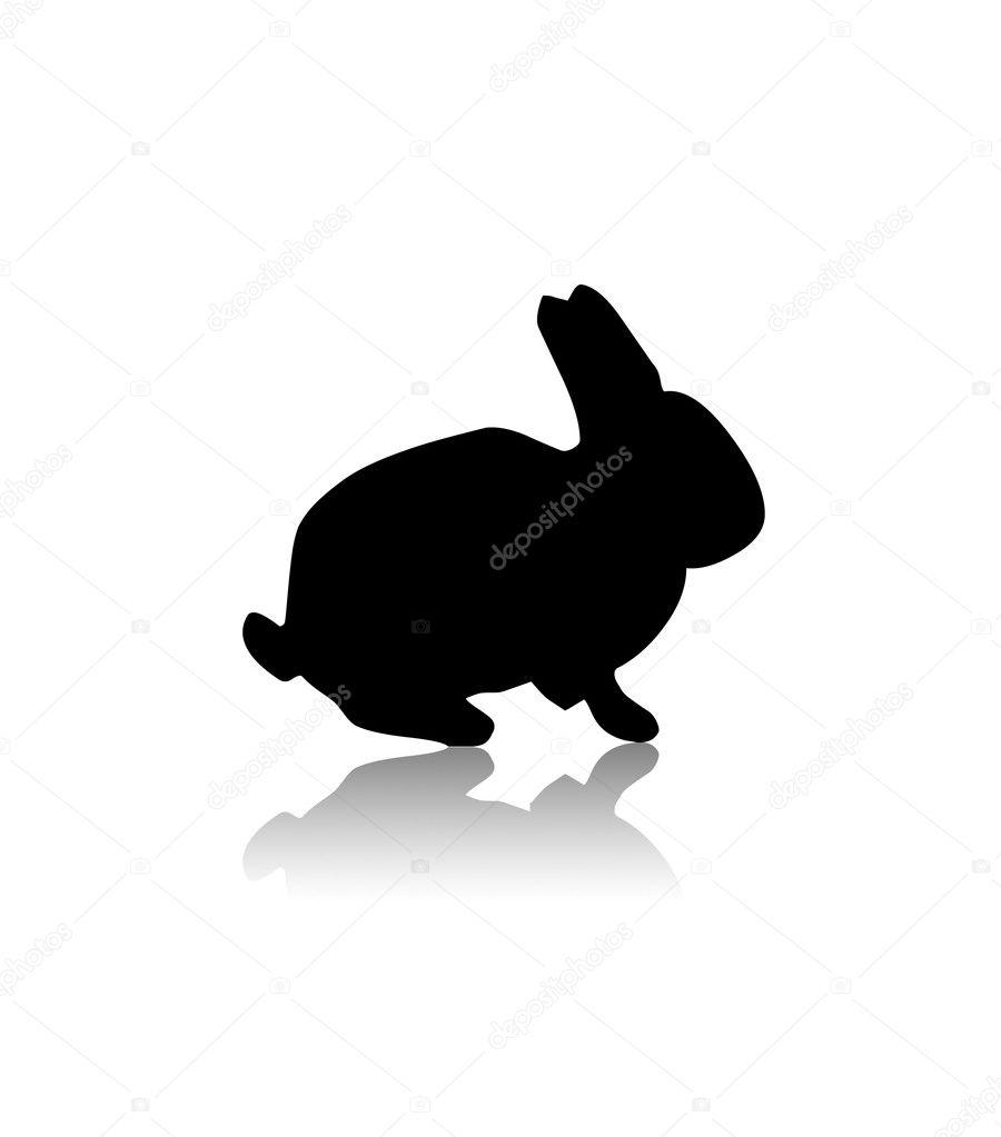 Image result for rabbit silhouette  Rabbits  Pinterest