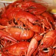 Stock Photo: Fresh boiled crawfish