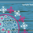 Royalty-Free Stock Vector Image: Lace winter pattern